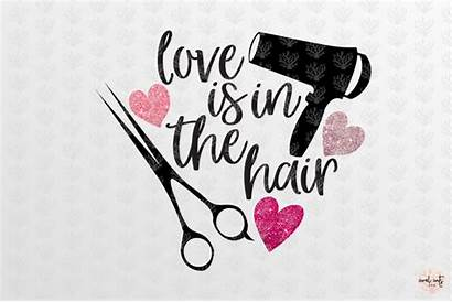 Svg Hair Dxf Eps Hairdresser Coralcuts Thehungryjpeg