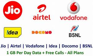 Gefälschte Vodafone Rechnung Per Post : jio airtel vodafone idea bsnl best plans 1gb per day data calls coupon pandit ~ Themetempest.com Abrechnung