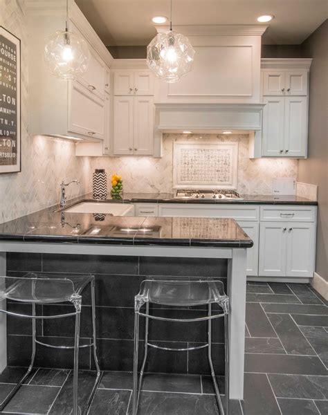 natural stone kitchen floor tile adoni black slate floor