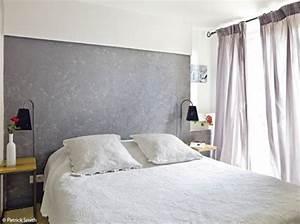 Tete De Lit Maison : visuel tete de lit a peindre ~ Zukunftsfamilie.com Idées de Décoration