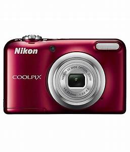 Nikon Coolpix A10 16.1MP Digital Camera - Red Price in ...