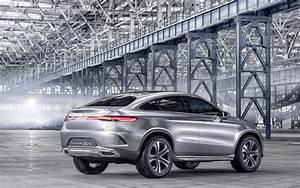 2014 Mercedes Benz Concept Coupe SUV 4 Wallpaper HD Car