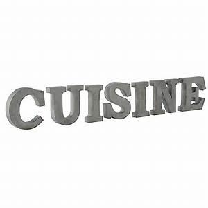 Lettre Decorative Cuisine : d co cuisine lettre exemples d 39 am nagements ~ Teatrodelosmanantiales.com Idées de Décoration