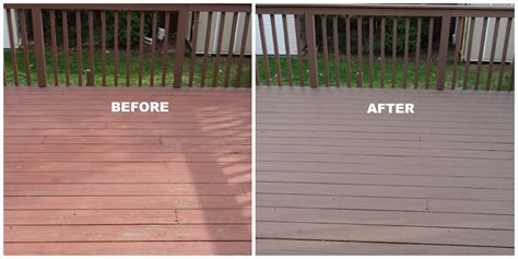 realize  repainting deck beauteeful living