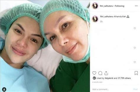 Momen Nikita Mirzani Lahiran Anak Ketiganya Penuh