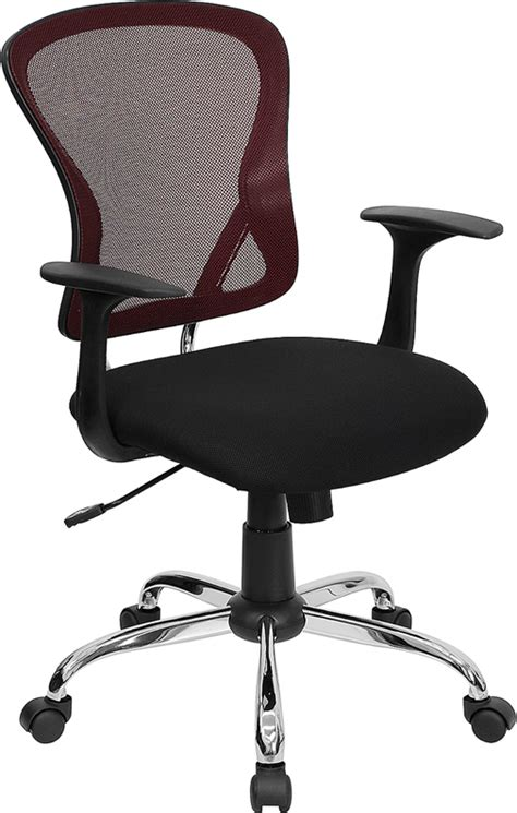 ergonomic office chair with lumbar support ergonomic mid back mesh swivel office chair with lumbar
