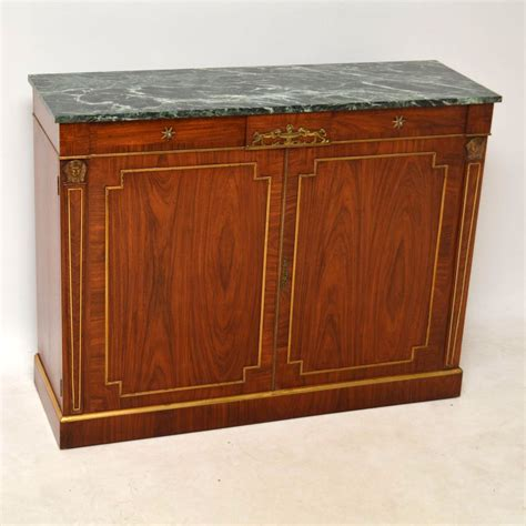 Antique Marble Top Sideboard by Antique Rosewood Marble Top Sideboard Cabinet Marylebone