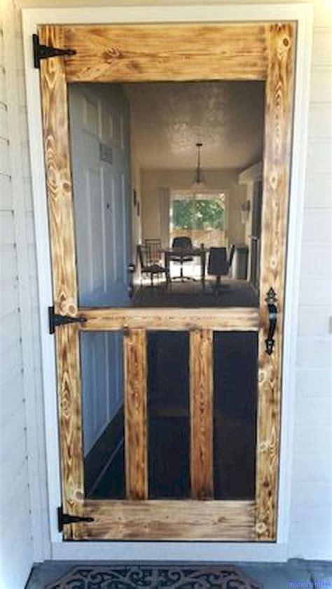 rustic diy home decor ideas  diy screen door