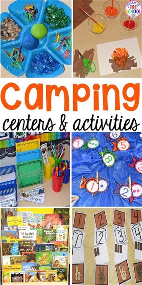 camping centers  activities fall theme preschool