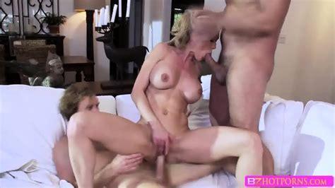 lucky milf brandi love sucks two huge cocks in one shot eporner