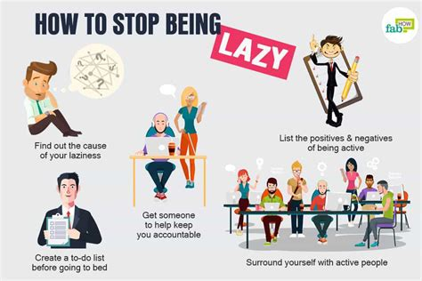 How To Stop Being Lazy 15+ Motivating Tips  Fab How