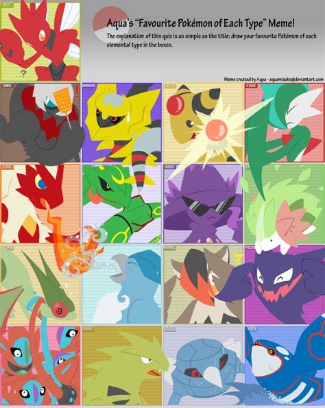 Pokemon Type Meme - pokemon type meme know your meme