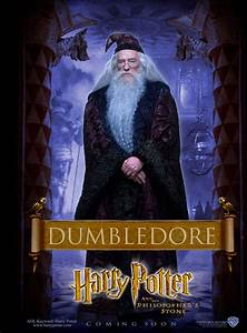 Harry Potter and the Philosopher's Stone Dumbledore poster ...