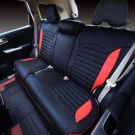 Kust Zd5082w Blackred Car Seat Covers,custom Fit Seat