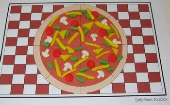 pizza playdough mats  early years toolbox tpt