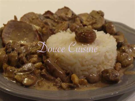 chataignes recettes cuisine recettes de châtaigne de douce cuisine