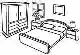 Coloring Bedroom Pages Modern Sheet Children Coloringpagesfortoddlers Creative Easy Innen Mentve sketch template