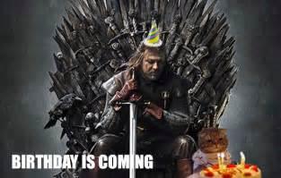 Happy Birthday Meme Game of Thrones