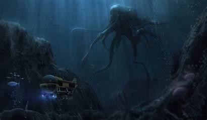 Abyss Thing Artwork Ocean Underwater Alien Artstation