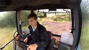 Bringing In Bales - New Holland 7740 - Gopro