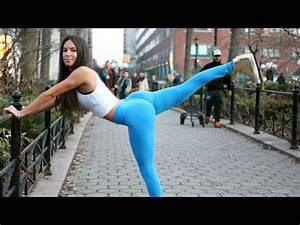 Womens butt crossfit workout - YouTube