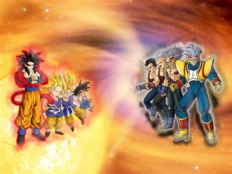 The Gallery For Gt Anime Baby Boy Goku Gt Vs Baby Vegeta By 123yas On Deviantart