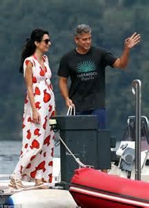 George Clooney and Amal Wedding