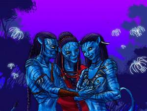 Jake and Neytiri have a baby (colorized) by Beb156 on ...