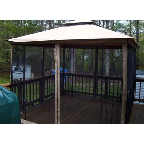 state lot gazebo state 2010 nantucket replacement canopy and netting