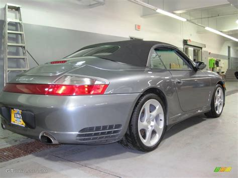 2004 Seal Grey Metallic Porsche 911 Carrera 4s Cabriolet