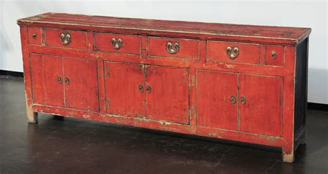 antique buffet cabinet furniture antique large red sideboard cabinet buffet tv console