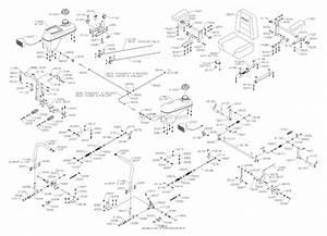 Dixon Kodiak 50  2006  Parts Diagram For Controls Tanks  U0026 Seat