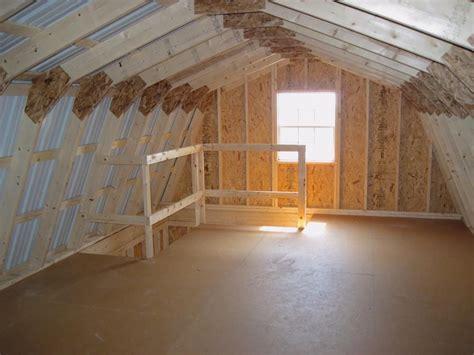story garage  level interior  sheds