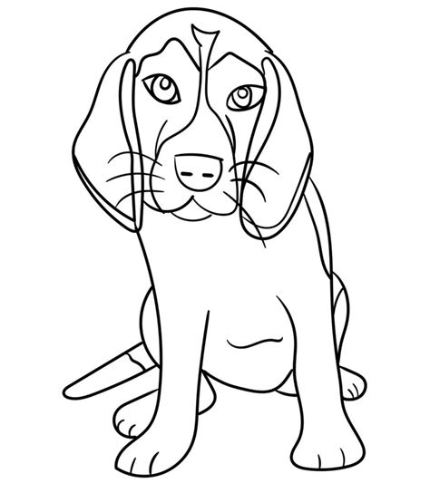 top   printable dog coloring pages
