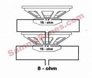 8 Ohm Speaker Wiring