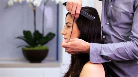 layer long thin hair long hairstyles youtube
