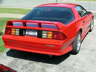 Camaro 1991 Rear Chevrolet Bumper Z28 1992