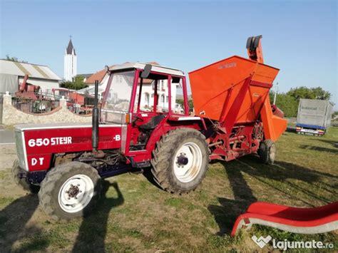 Tractor Steyer cu culegator, 10.999 eur - Lajumate.ro