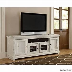 25 best ideas about white entertainment centers on for Distressed white wood entertainment center