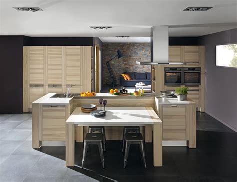 facade meuble cuisine bois brut les cuisines en bois la tradition au goût du jour