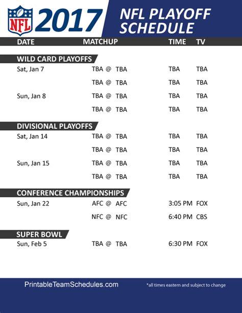 nfl playoff schedules nfl playoff schedule nfl