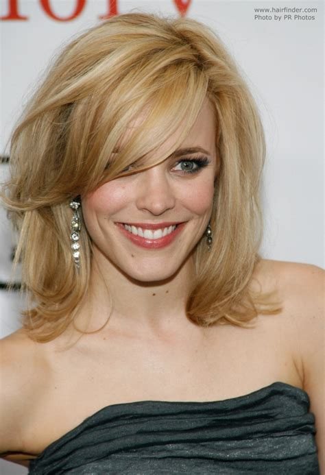 rachel mcadams   hair styled     eyes