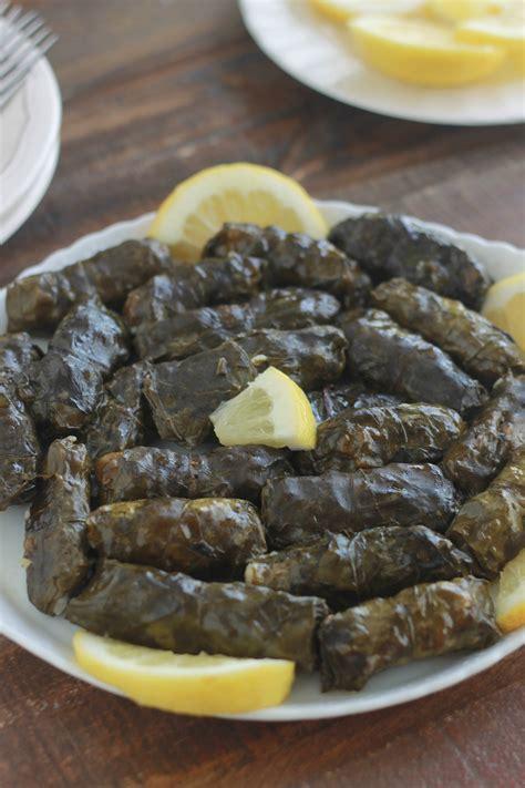 recettes de cuisine libanaise feuilles de blettes farcies à la viande recette libanaise