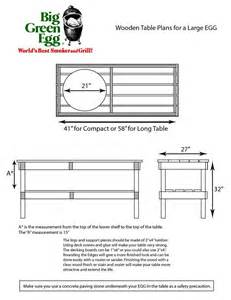 PDF Woodwork Large Big Green Egg Table Dimensions Download