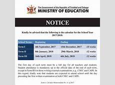 Trinidad & Tobago Grade School Level