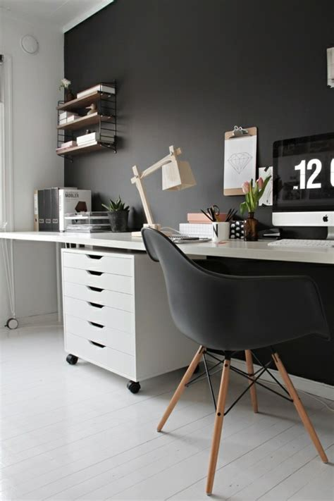 ikea bureau mural 70 walls painting ideas in shades fresh design pedia