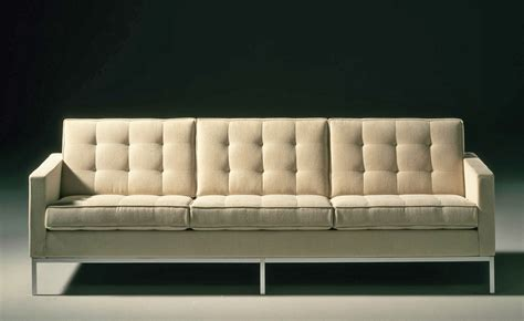 Florence Knoll 3 Seat Sofa