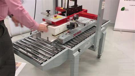 carton sealer   entry level carton taping machine youtube
