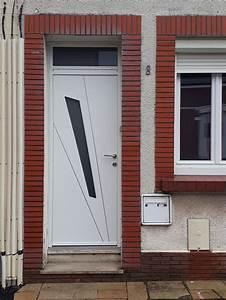 Porte D Entrée Blanche : pose d 39 une porte d 39 entr e avec imposte en aluminium de ~ Melissatoandfro.com Idées de Décoration