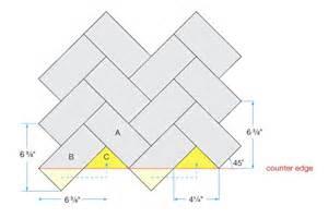 herringbone installation aspect aspect